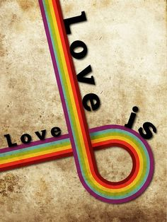 Love is Love No matter what race or orientation LGBT Equality Quotes, Lgbt Quotes, Love Rainbow, Rainbow Pride, Same Love, Rainbow Store, Lgbt Community, Lesbian Love, Beautiful Love