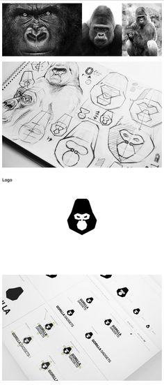 Gorilla Gadgets Identity Identity design for a California-based company Gorilla Gadgets.