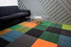burmatex structure bonded carpet tiles - Park Designed, Leeds   burmatex, flooring, carpet, carpet tiles, colourful, patchwork, office interior, multi-coloured