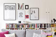 Bilder, Vardagsrum, Soffa, Bokhylla, Tavla - Hemnet Inspiration