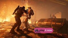 Gears of War 4 review Read more Technology News Here --> http://digitaltechnologynews.com Gears of War 4 review  Despite a new platform a new development team and a new-ish set of muscled heroes on its box art Gears of War 4 isn't some grand reimagining o