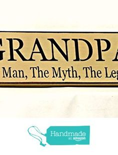 A grumpy old bear lives here with his honey country sign 4 x 12 grandpa the man the myth the legend country sign grandpa sign country decor sciox Gallery