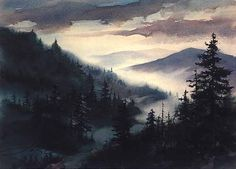 """The Official Jim Gray Gallery Website  www.jimgraygallery.com  """"High Mountain Mist"""""""