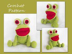 Ravelry: Frog Amigurumi - Free Crochet Pattern pattern by LovelyBabyGift