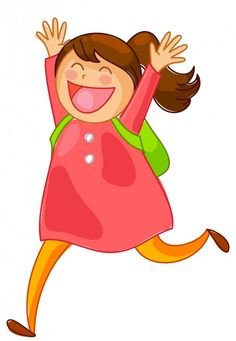Funny Cartoon Pictures, Children Back to School 4