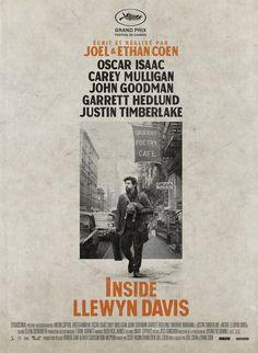 Inside Llewyn Davis est un film de Ethan Coen avec Oscar Isaac, Carey Mulligan. Synopsis : Inside Llewyn Davis raconte une semaine de la vie d'un jeune chanteur de folk dans l'univers musical de Greenwich Vill
