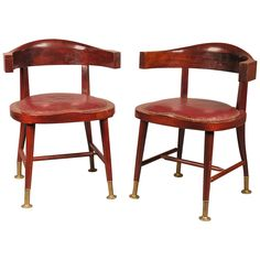 Pair of Armchairs designed by Adolf Loos | 1stdibs.com