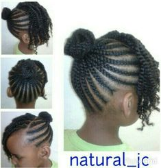 Little girl protective style