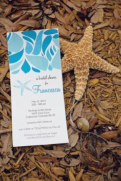 DIY Printable Ocean Inspired BRIDAL SHOWER by lovelylittleparty, $12.50