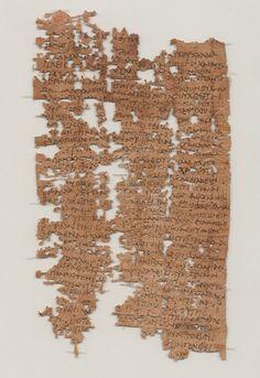 Descifran carta de un soldado egipcio-romano de hace 1.800 años
