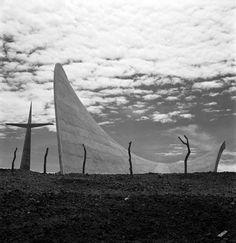 The chapel of Palmyra in Cuernavaca (Mexico) Felix Candela. 1959.