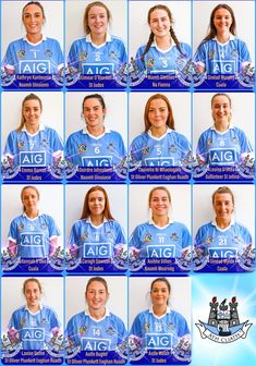 The Dublin Premier Junior All Ireland Final Team to face Kerry in the Liberty Insurance Premier Junior All Ireland Camogie Final has been announced. Dublin, Finals, Ireland, Face, Final Exams, The Face, Irish, Faces