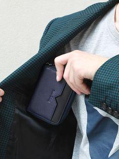 New-Bring RFID Blocking Slim Credit Card Holder Wallet Genuine Leather Multi Card Organizer Travel Wallet with Zipper, Black Money Safe, Card Organizer, Rfid Wallet, Leather Wallet, Satchel, Card Holder, Organization, Zipper, Fabric