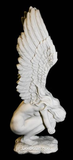 Weeping Angel Statue - rememberance and deliverance