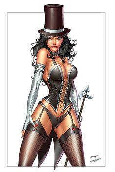 Naw, comics aren't sexist lol. I do love me some Zatanna though.