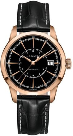 @hamiltonwfan  American Classic Rail Road #add-content #basel-16 #bezel-fixed #bracelet-strap-leather #brand-hamilton #case-material-rose-gold #case-width-40mm #date-yes #delivery-timescale-call-us #dial-colour-black #gender-mens #luxury #movement-automatic #new-product-yes #official-stockist-for-hamilton-watches #packaging-hamilton-watch-packaging #price-on-application #style-dress #subcat-american-classic #supplier-model-no-h40505731 #warranty-hamilton-official-2-year-guarantee…