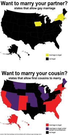 """they've gotten it all wrong.and altho some states allow gay marriage.they are still choking on it. Pity really as most gay people that I know are the sweetest of the sweet. Now, that cousins """"shit"""" is a whole different story! Facepalm Meme, Love You Husband, Marriage Tips, Marry You, Cousins, True Stories, Make Me Smile, Religion, Hilarious"""