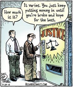 Funny comics Justice (Bizarro Comics, 07-24-14)