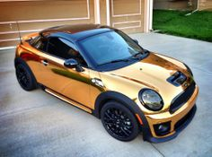 Pedal to the medal. Go for gold with MINI fan Todd's custom wheels.