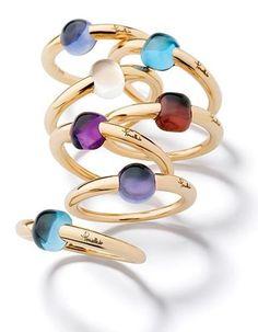 Gems Jewelry, Diamond Jewelry, Jewelry Accessories, Jewellery, Bijoux Louis Vuitton, Gemstone Bracelets, Bangles, Bijoux Or Rose, Color Ring