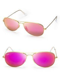 Ray-Ban New Aviator Mirrored Sunglasses, 59mm | Bloomingdale's