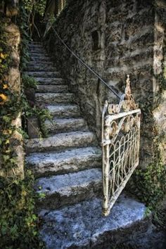 Mossy steps. Treppen Stairs Escaleras repinned by www.smg-treppen.de
