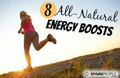 8 Healthy Energy Boosters via @SparkPeople
