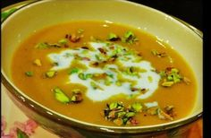 Recipe for Red Lentil Soup with Japanese Yam and Carrots Love Soup by Anna Thomas | What's the Soup