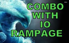 Dota 2 - Morphling - Rampage - Best Combo Ever - Morphling with Etheral Blade  + Io aka Wisp