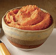 Carrot Mash with Orange and Mint