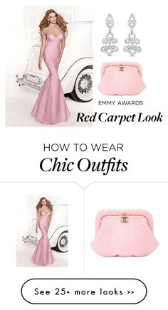 """Dress Your Favorite Emmy's Nominee!"" by fashionconnery on Polyvore featuring Allurez, Chanel and emmyredcarpet"