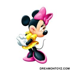 Adorable Minnie Mouse with