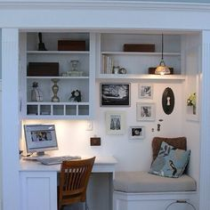 Love this little nook.