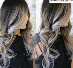 20 Cute and Easy Blonde Balayage Hairstyles – My hair and beauty Hair Color And Cut, Hair Color Ideas For Black Hair, Balayage Hair, Haircolor, Guy Tang Balayage, Auburn Balayage, Gorgeous Hair, Hair Looks, Hair Trends