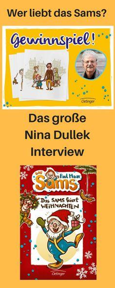 Nina Dullek Illustrationen, Nina Dullek, Das Sams, Paul Maar, Kinderbuch das Sams, Kinderillustrationen