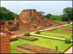 A NEW UNESCO WORLD HERITAGE SITE OF INDIA  UNESCO has declared that the archaeological site of Nalanda University at Nalanda, Bihar is now authoritatively a UNESCO World Heritage Site. Nalanda University site dates back to 5th century BC. This site was a renowned Mahavihara (Buddhist monastery) and centre of knowledge in Magadha, now modern Bihar.