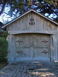 Cottage garage...
