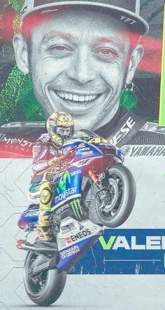 Man Cave Shed, Speed Art, Valentino Rossi, Motogp, Grand Prix, F1, Ferrari, Motorcycles, Racing