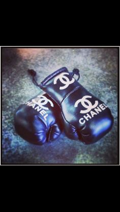 Chanel Boxing gloves