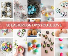 50 Ways to Dye and Decorate Easter Eggs