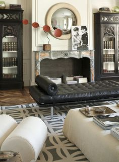 Spooky Home   urbnite:   Barcelona Couch by Mies van der Rohe