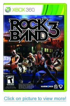 Rock Band 3 - New Sealed (Nintendo Wii Game, Fast Free Post Latest Video Games, Video Games Xbox, Xbox 360 Games, Xbox Games, Nintendo Ds, Playstation, Before I Forget, Music System, Music Library