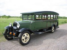 Worldwide Auctioneers - 1930 Ford Model AA 'Caboose' Style Entry Open-Air Bus - The Houston Classic Auction