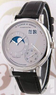 A. Lange & Söhne 139.025 Grande Lange 1 Moon Phase, Platinum