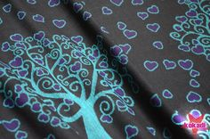 kokadi baby wrap - Mystic Hearttree 100% cotton