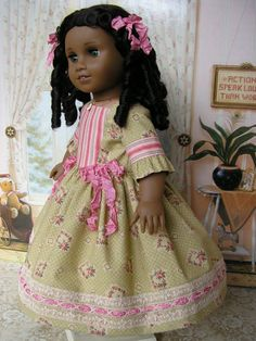 CLEARANCE SALE American Girl doll mid-1800s or by dolltimes