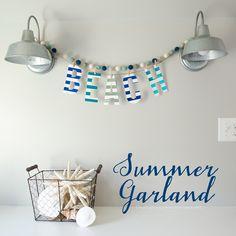 DIY Summer Garland | Craftaholics Anonymous®