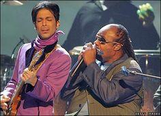 "stevie wonder | Video: Stevie Wonder x Prince ""Superstition"" Live in Paris ..."