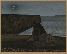 Alex Colville New Moon, 1980