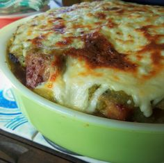 Salsa Verde Carnitas Tamale Pie - Hispanic Kitchen April 2014